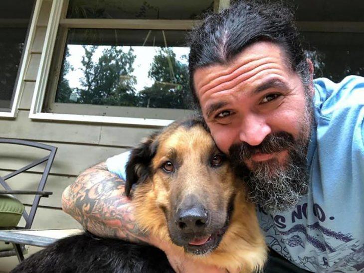 perro y humano