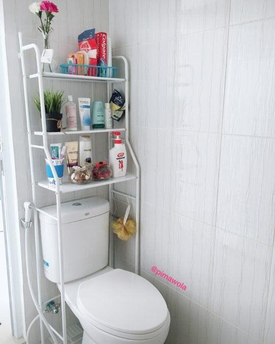 estante de baño
