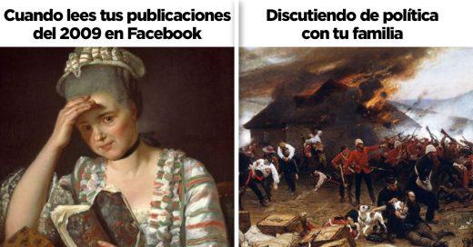 Cover Graciosos memes históricos que se pueden aplicar al presente