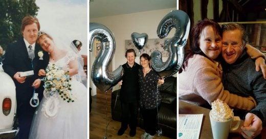 Cover Pareja con síndrome de Down celebra 22 años de matrimonio