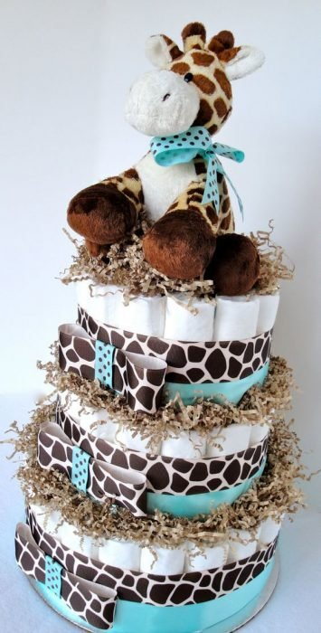 jirafa y pañales