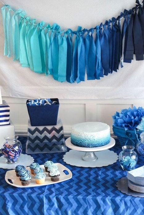 babyshower azul