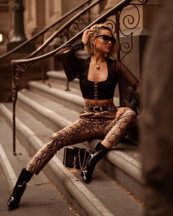 Outfits con estampado de serpiente pinterest instagram