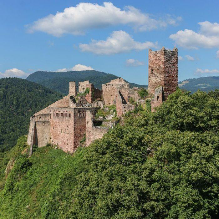 Castillo de Saint Ulrich, Francia