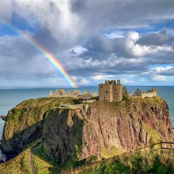 Castillo Dunnottar, Escocia