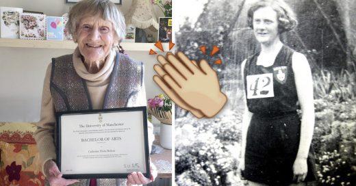 Cover Después de 80 años de terminar sus estudios, recibió su título universitario a los 101 años