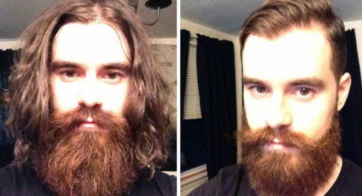 corte de cabello y de barba