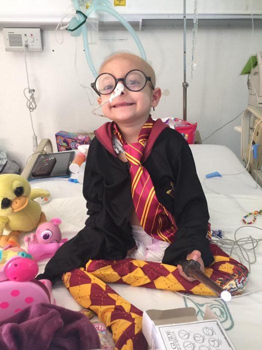 niña cáncer harry potter