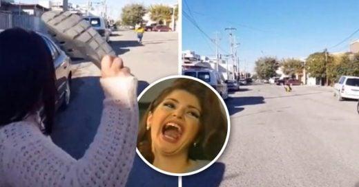 Cover Mamá se vuelve viral por su puntería al dar un chancletazo a su hija