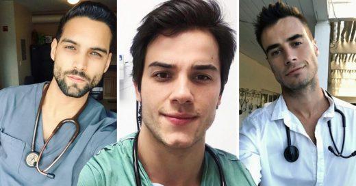 Cover Médicos guapos que harán que quieras estar enferma todos los días