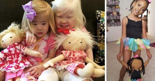 Cover Mujer crea muñecos para niños con discapacidades y enfermedades