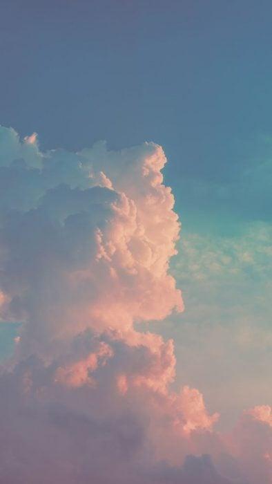 nube en el cielo