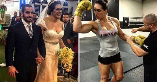 Cover Ella es la novia supermusculosa y guapa que se ha viralizado en redes sociales