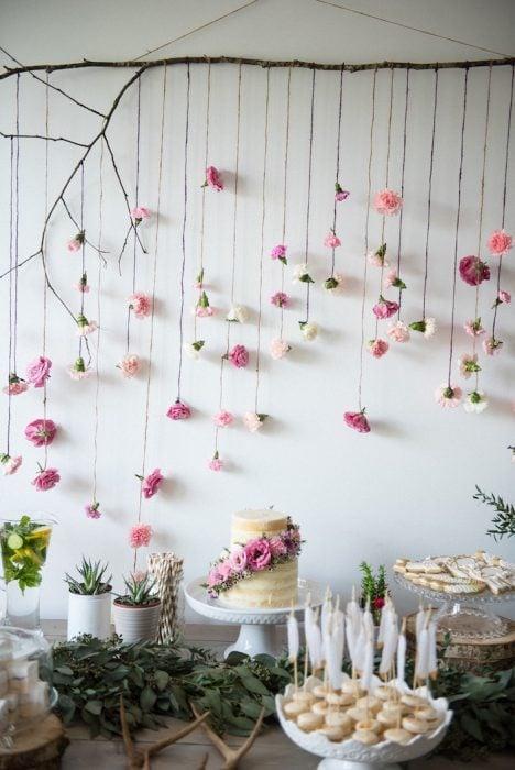 guirnalda flores recreoviral.com