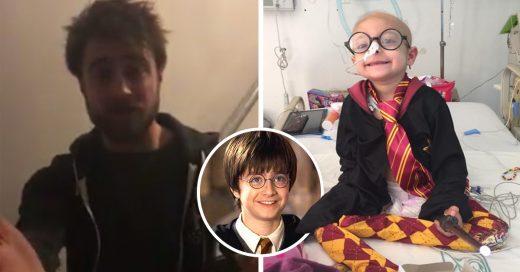 Cover Harry Potter hace magia: envía videomensaje a nena mexicana