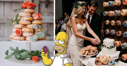 Cover Ideas para reemplazar el pastel de la fiesta con donuts