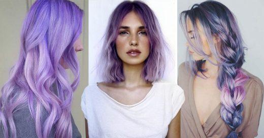Cover Ideas para teñirte el cabello lila