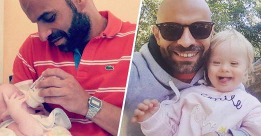 Cover Papá soltero adopta una bebé que fue rechazada 20 veces