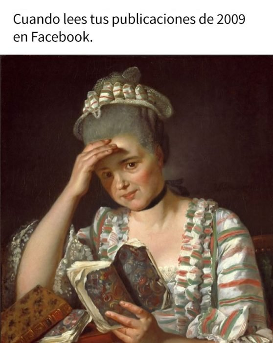 meme histórico facebook