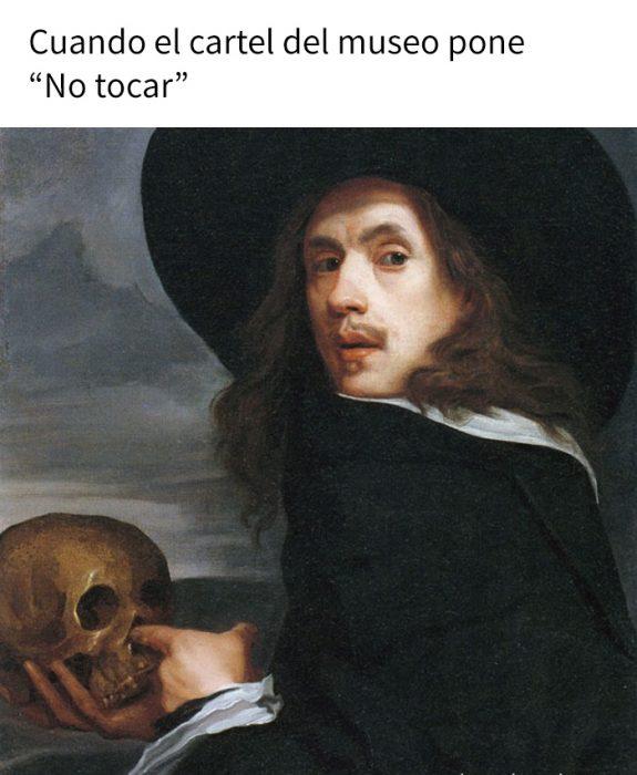meme no tocar