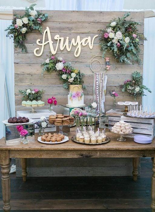 Ideas para mesas de dulces