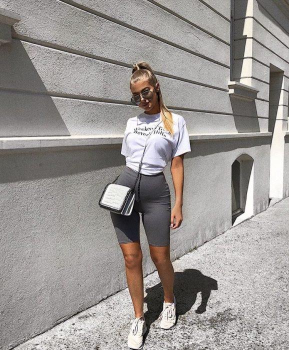 pantaloncillos ciclista moda
