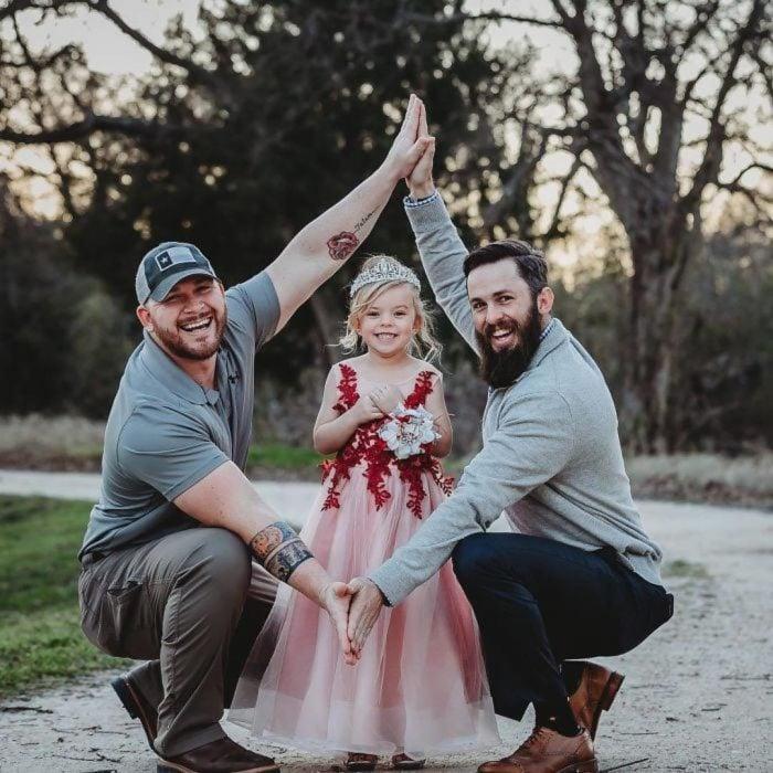 padres e hija