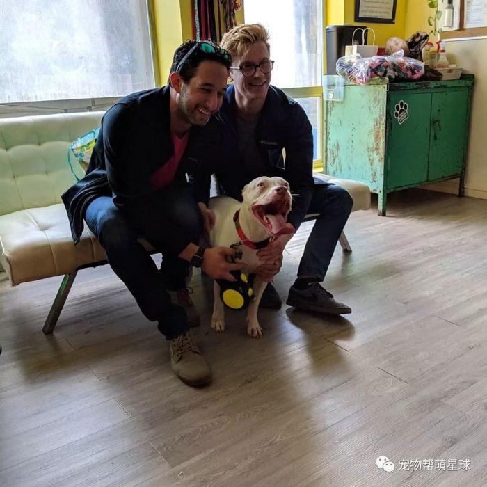 dos hombres y un perro