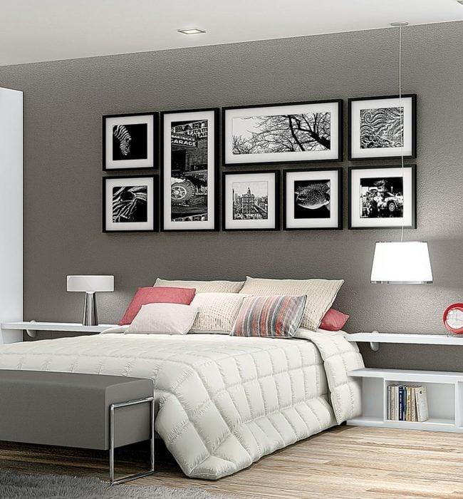 Decora paredes con fotografías
