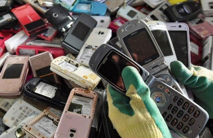 teléfonos viejos