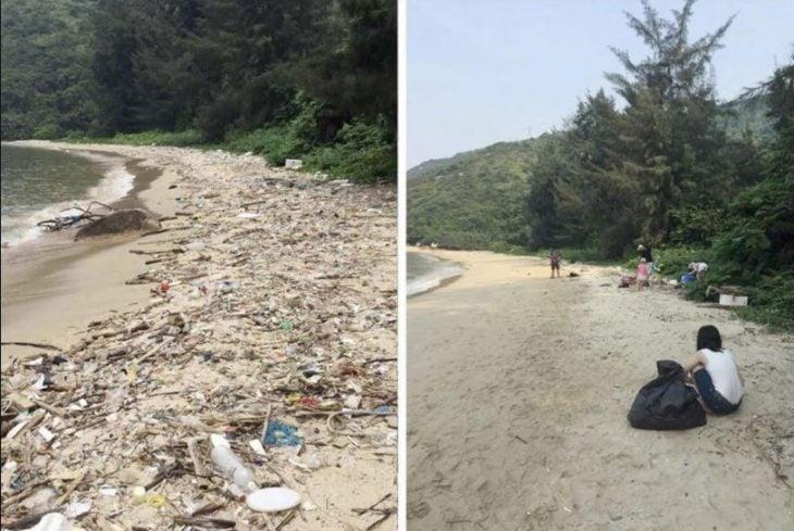 Trashtag reto recolectar basura