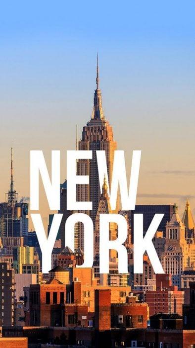 Vista panorámica del centro de New York