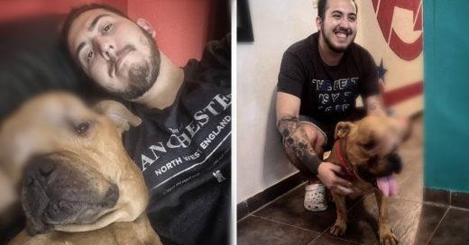 COVER Adopta a un perrito con cáncer y le da todo el amor y cuidado en sus últimos días