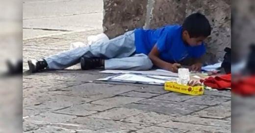 COVER Becan a niño que vende dulces en la calle, y tiene promedio de 9