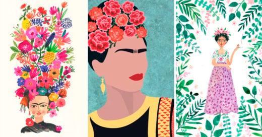 COVER Fondos de pantalla con Frida Kahlo como protagonista