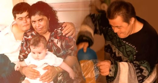 COVER Hombre con síndrome de Down saca adelante a su familia y su hijo está orgulloso