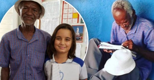 COVER Niña de 9 años le enseña leer al vendedor de helados de su escuela