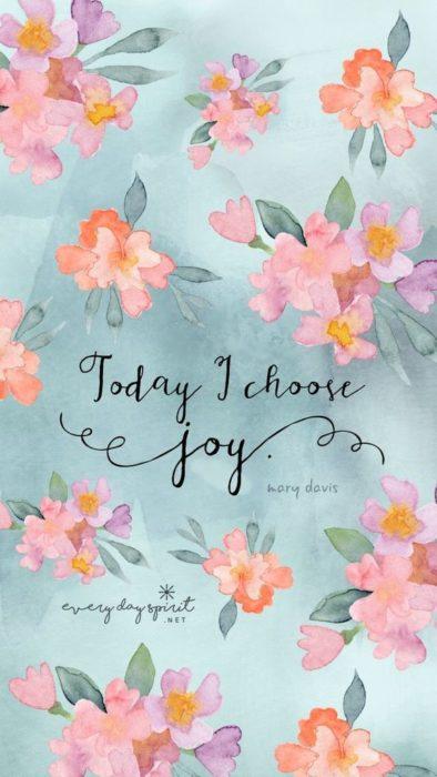 Hoy elijo ser feliz