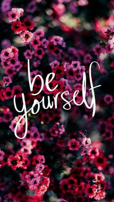 flores y be yourself