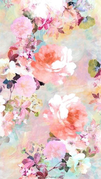 flores acuarelas
