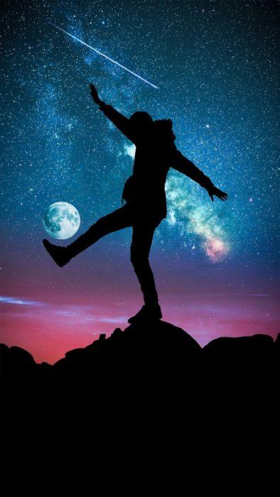 Dominadas con la luna