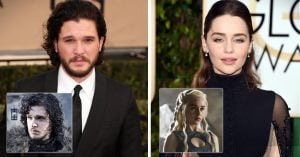 Así es como lucen los ACTORES de 'Game of Thrones' en la vida real