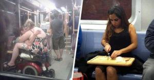 28 Personas odiosas, ocurrentes y hasta extrañas que no querrás toparte en el metro en hora pico