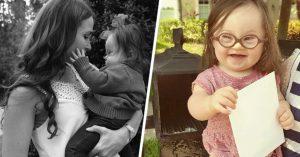 Madre de bebé con Síndrome de Down le escriben una carta al doctor que sugirió abortara