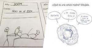 25 Ingeniosas respuestas que solo se le pudieron ocurrir a un niño a la hora del examen