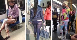 20 Personas que jamás debieron haber conocido los leggings