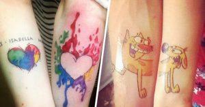 15 Tatuajes de pareja que querrás hacerte con YA