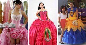 Los 20 vestidos de XV años más feos y nacos de todos los tiempos