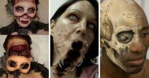 18 Maquillajes de Halloween tan horripilantes que te harán tener pesadillas