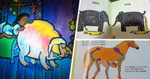 20 Cosas perturbadoras que se encontraron en los libros infantiles
